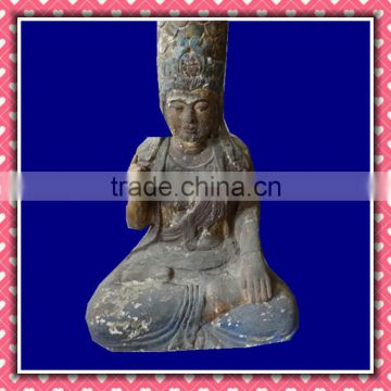 antique Wood Carving Buddha Crafts in Wood Carfts