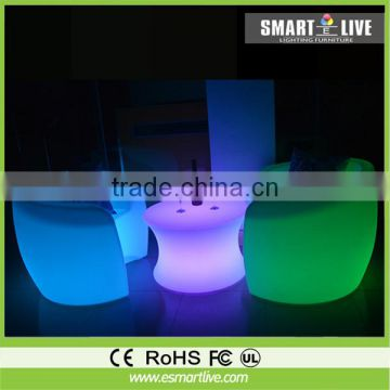 Remote Control PE RGB Color Changing Led Chair/Led Barstool/Led Bar Stool Chair