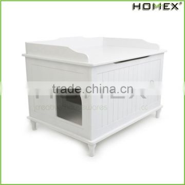 New design fantastic MDF wood pet cage Homex_BSCI Factory