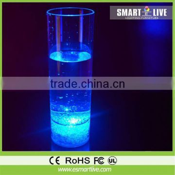 Liquid active color changing drink cup for your party/celebration/wedding