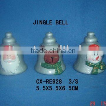 terra cotta jingle bell for christmas gifts
