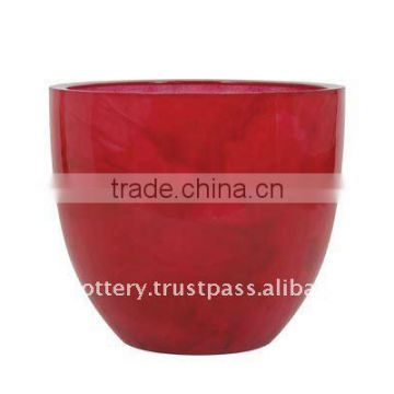 AAL Fiberglass planter, fiberglass pot, FRP flower pot