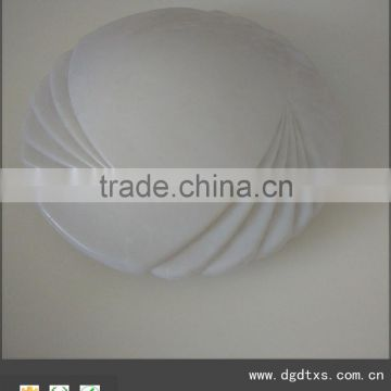 Round blowing LED ceiling panel light