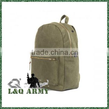 Fashionable Blank Cotton Canvas Backpack For Girl