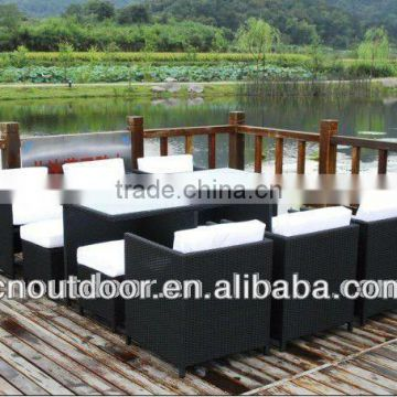 2015 new specific patio garden rattan sofa set office conference table chair furniture