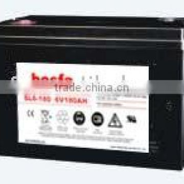 SL6-180 sealed acid battery vrla smf battery 6v vrla batteries deep cycle 6v180ah electric car battery