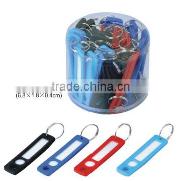 Packaged Plastic Id Tags Name Card Label Keychains