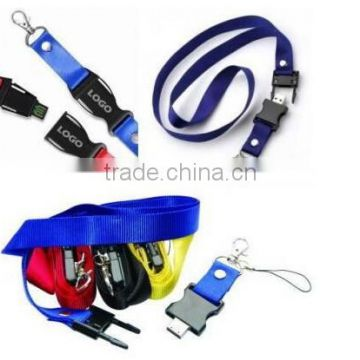 Most popular cheap custom lanyard/polyester lanyard/phone lanyard
