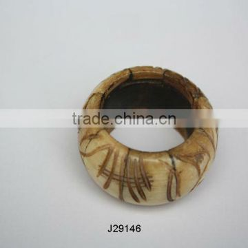 Carved Bone Napkin Ring available in other colours also