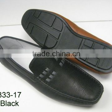 2015 latest casual PU shoes with PVC outsole