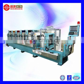 CH-300 Supply high quality adhesive round label sticker printing machine