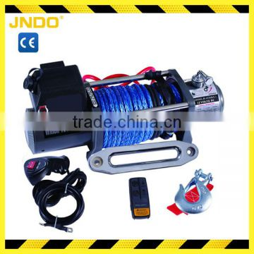 12V/24V strong pulling force electric winch 10000lbs
