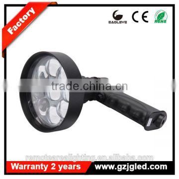 Guangzhou ip67 rechargeable led super bright outdoor lighting 27w work light
