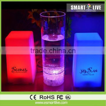 150ml Acrylic Promotional LED flashing cup