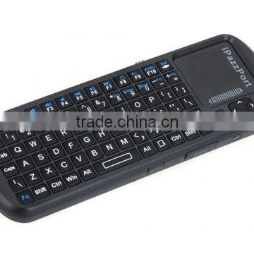 iPazzPort Wireless Keyboard For Panasonic Viera Smart TV For Android TV Box Factory Supply