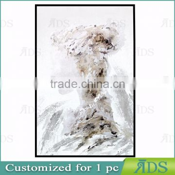 Handmade Modern Contemporary Art Abstract Woman Oil Painting