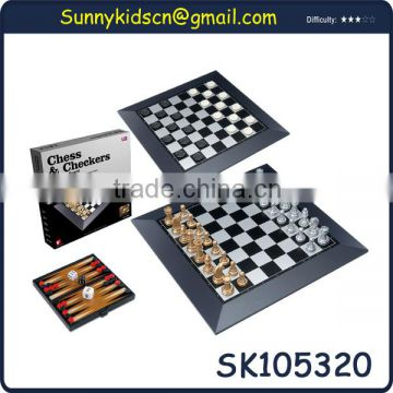 classy metal chess board antique chess sets international chess with EN71
