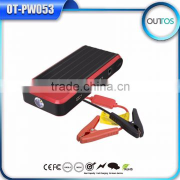 Wholesale mini high power jump starter 12000mah with ce from original factory ISO9001