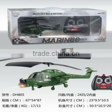 RC helicopter with Gyro