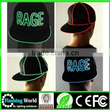 customerized crazy funny led lighted hats