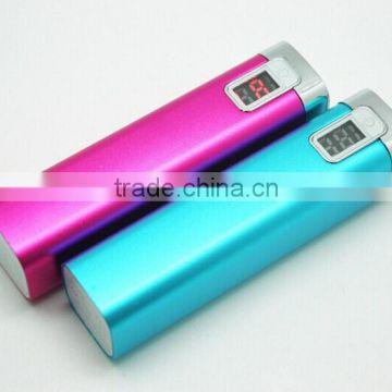 Wholesale instant mobile phone charger moblie powerbank 2600 mAh                                                                         Quality Choice