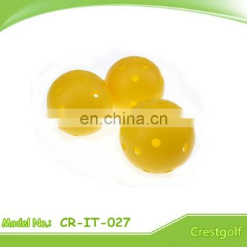 73mm plastic 26 hole Child Floor Ball