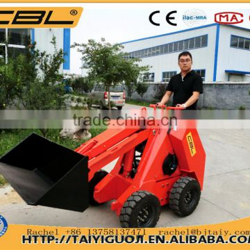 MS500P 500kg mini skid steel farm equipment loader for sale