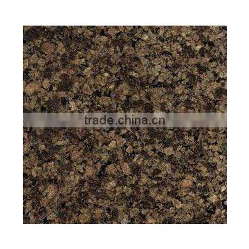 Top polished antique brown granite countertop