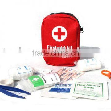 Outdoor sport travel basic first aids kit