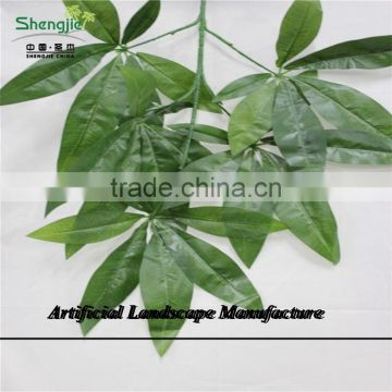 SJZJN 2596 Manmade High Quality Leaves,Plastic leaves on sale