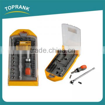 42pcs Screwdriver and socket set, professional combination ratchet socket set