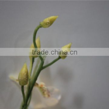 brand name decorative artificial flowers fabric butterfly orchid