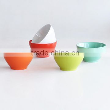 2016 round solid color home ues cheap bowl