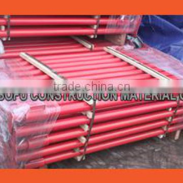 Construction Scaffolding Adjustable Prop System Steel Shoring Prop for Formwork Support