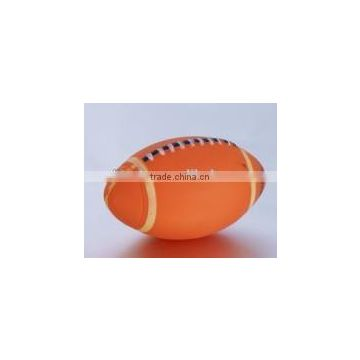 PVC bath rugby baby tub floating American football toy