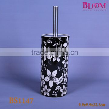 Special design custom toilet brush with holder