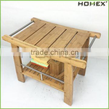 Fabulous Qaulity Bamboo Shower Bench/Homex_BSCI