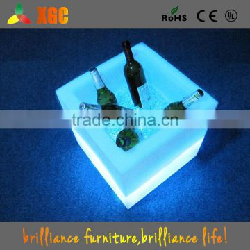Plastic LED Ice Bucket for Beer Promotional Project