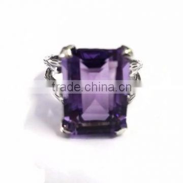 925 Silver Gemstone Ring