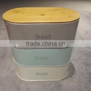 CURVED STEEL ROLL TOP BREAD BIN KITCHEN FOOD STORAGE BLACK BOX