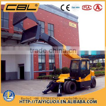 CBLCZJ03 4WD articulated mini wheel loader with backhoe