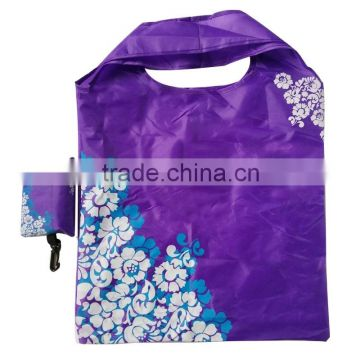hot sale fashionable popular polyester tote bag with figure