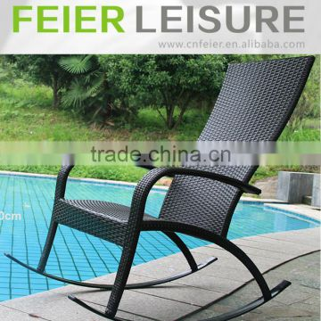 cheap rattan rocking chair / lazy chair furniture