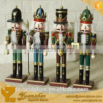 life size nutcracker statues for market decoration