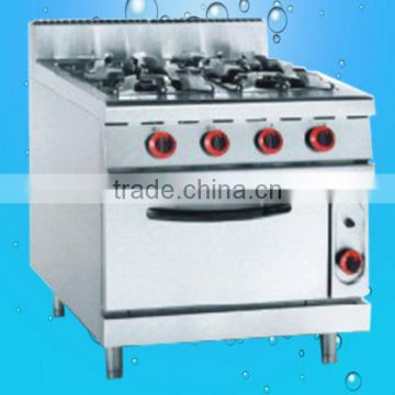 Kitchen Appliances,4 burner gas cooker with Electric Oven(ZQW-878-4)