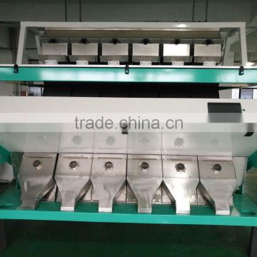 12 chutes all led lamp Electronic Green Moong Dhall color sorter machine