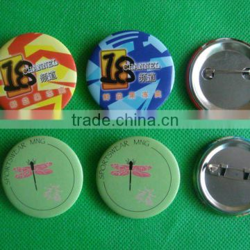 Customized button badge