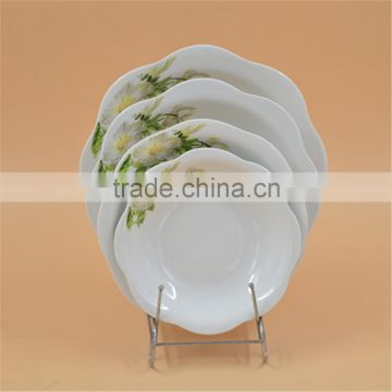 ceramic porcelain dinner plate