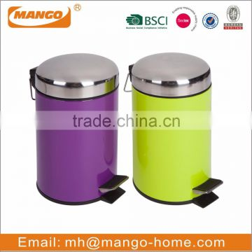 Colored Outdoor eco friendly Trash Can