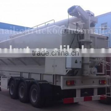 CLW 3 axis Feed transport Semi Trailer 55m3